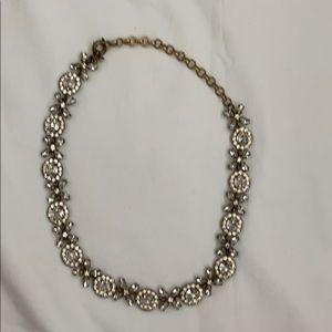 Jcrew good/crystal necklace